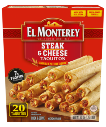 Beef & Cheese Flour Taquitos